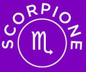 oroscopo della settimana dello scorpione