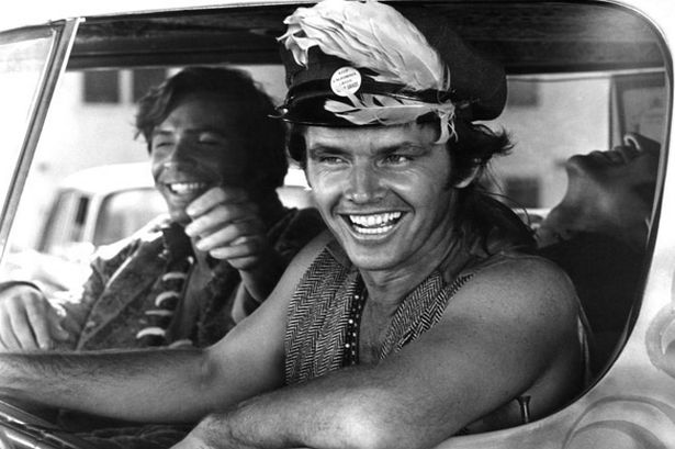 Jack Nicholson in the 1968 film Psych-Out